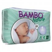 Abena Bambo Nature 1 - подгузники для детей, XS (2-4 кг), 22 шт.