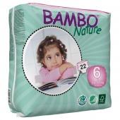 Abena Bambo Nature 6 - подгузники для детей, XXL (16+ кг), 20 шт.