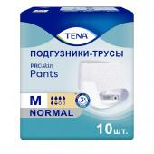 Tena Pants Normal Proskin - впитывающие трусы, M, 10 шт.