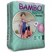 Abena Bambo Nature Pants 6 - подгузники-трусики для детей, XXL (18+ кг), 18 шт.