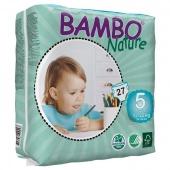 Abena Bambo Nature Pants Junior 5 - подгузники-трусики для детей, (12-20 кг), 27 шт.