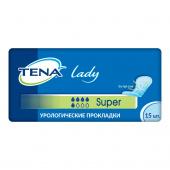 Tena Lady Super - урологические прокладки для женщин, 15 шт.