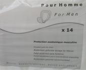 Вкладыши урологические для мужчин AMD Men, 14 шт.