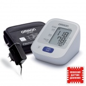 Тонометр OMRON M2 Basic с адаптером и универсальной манжетой