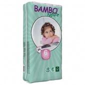 Abena Bambo Nature 6TB - подгузники для детей, XXL (16+ кг), 40 шт.