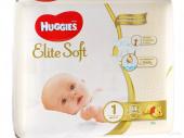 Huggies Elite Soft 1 - подгузники для детей (3-5 кг), 84 шт.