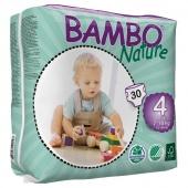 Abena Bambo Nature Maxi 4 - подгузники для детей (7-18 кг), 30 шт.