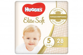 Huggies Elite Soft 5 - подгузники для детей (12-22 кг), 28 шт.