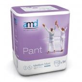 Подгузники-трусы высокой впитываемости AMD Pant Medium Maxi, 14 шт.