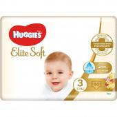 Huggies Elite Soft 3 - подгузники для детей (5-9 кг), 40 шт.