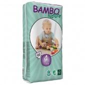 Abena Bambo Nature Maxi 4 - подгузники для детей (7-18 кг), 60 шт.